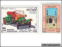 'موتر های قديمی' و مسجد جامع هرات