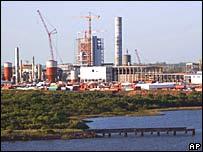 Margem do rio Uruguai, onde fábrica está sendo erguida