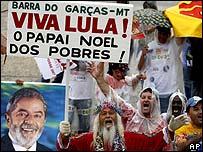 Posse de Luiz Inácio Lula da Siva (arquivo)