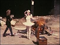نمایی از فیلم درک جارمن