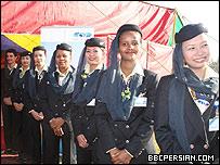 مهمانداران شرکت هواپیمایی صافی ایرویز