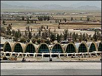 نمایی از ترمینال فرودگاه بین المللی شهر قندهار