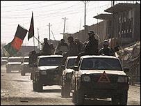 نیروهای دولتی افغان در موسی قلعه
