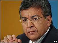 O presidente do Paraguai, Nicanor Duarte Frutos