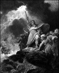 Teoria de que Moisés tomou chá do Daime cria polêmica em Isr 20080304192738moses203h