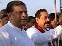 இலங்கை ஜனாதிபதியுடன், அமைச்சர் ஜெயராஜ்