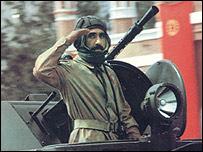 سرباز ارتش وقت افغانستان