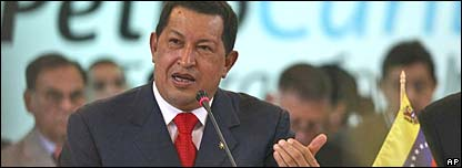 Hugo Chavez and PetroCaribe