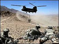 په افغانستان کې امريکايي ځواکونه