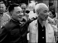 Đặng Tiểu Bình và Hồ Chí Minh-ảnh tư liệu