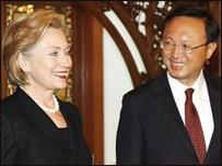 Di Cina Hillary juga Ajak Bangun Kemitraan yang Semu