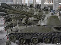 Ruski tenkovi - ali pravi...