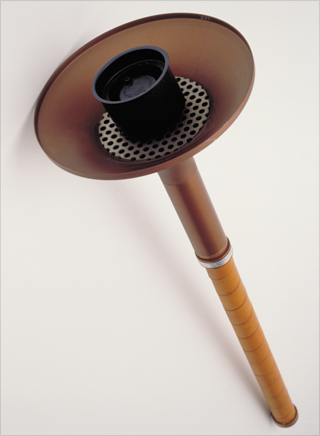 Photo: The torch design for the 1980 Summer Olympic Games