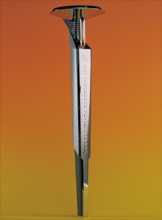 Photo: The torch design for the 1992 Summer Olympic Games