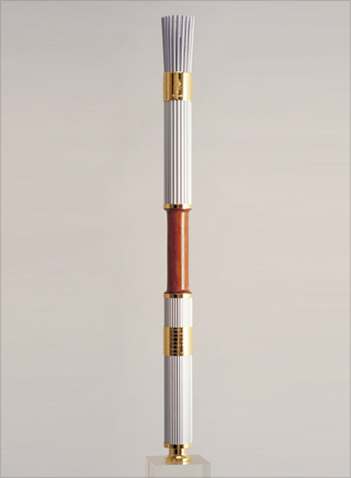 Photo: The torch design for the 1996 Summer Olympic Games