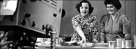 A 1950s cookery programme